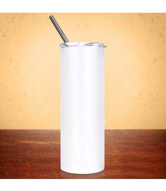 Sublimation Tumbler Skinny White 20 Oz