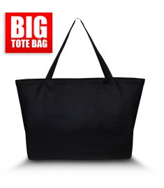 Big Tote Bag Black
