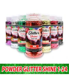 Powder Glitter Shine 1-24