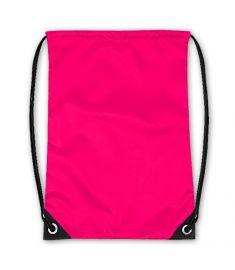 Drawstring Bag Neon Pink
