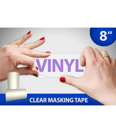 Clear Masking Tape 8 Inch