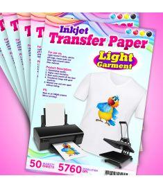 Inkjet Transfer Paper-White
