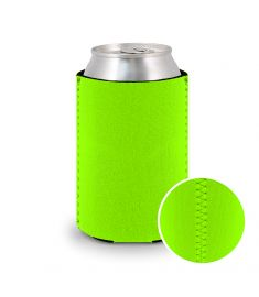 Koozie Neoprene Neon Green
