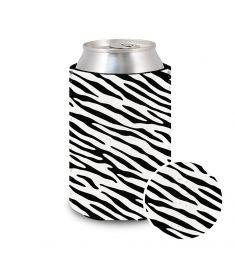 Koozie Neoprene-Zebra