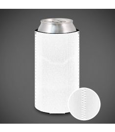 Tall Koozie Neoprene White