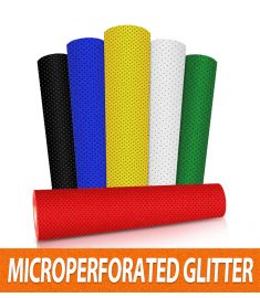 Glitter Perforated Vinyl
