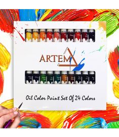 Oil Color Paint Set Of 24 Colors