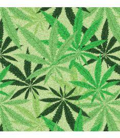 Marijuana Leaf Glitter Vinyl