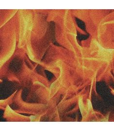 Red Fire Glitter Vinyl