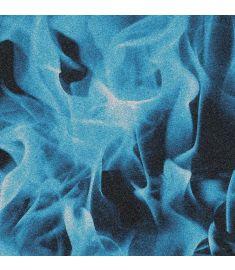 Blue Fire Glitter Vinyl