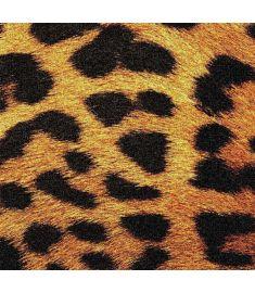 Leopard Imitation Glitter Vinyl