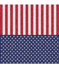 American Flag Glitter Vinyl