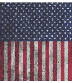 American Flag Dirty Glitter Vinyl