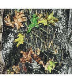Camo Tree Leaves Glitter Vinyl