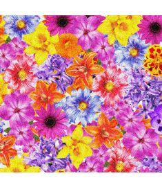 Mix Flowers Glitter Vinyl