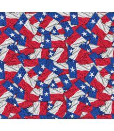 Flags Texas Glitter Vinyl