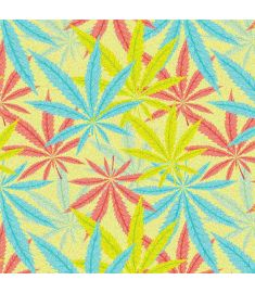 Marihuana Light Colors Glitter Vinyl