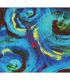 Water Swirl Glitter Vinyl