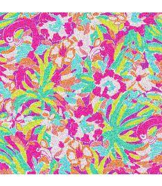Flamingo Glitter Vinyl