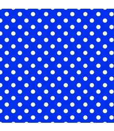 Pattern Polka Dot Blue