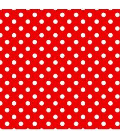Polka-Dot Red Vinyl