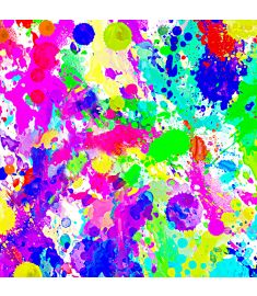 Paint Splash Colors Vinyl
