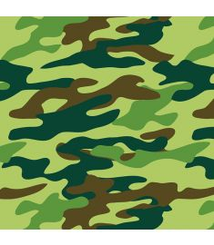 Camouflage Green Sign Vinyl