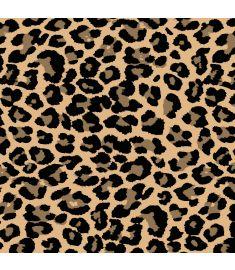 Leopard Brush Sign Vinyl