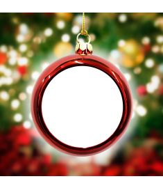 Christmas Plastic Ball Sublimation