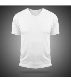 Tshirt V Neck Magic-White