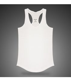 Magic Fitted Tank Top White