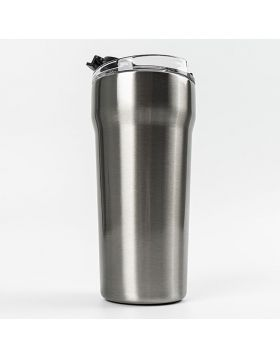 Stainless Steel Tumbler With Easy Open Lid 20 Oz