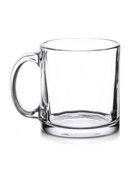 Glass Mug Transparent Sublimation 11 Oz