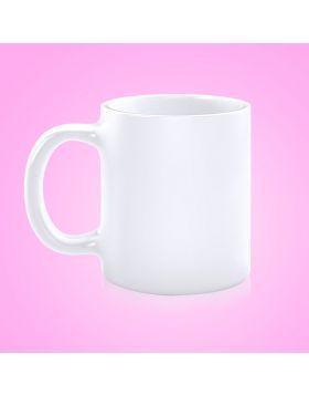 Cup White Ceramic Sublimation
