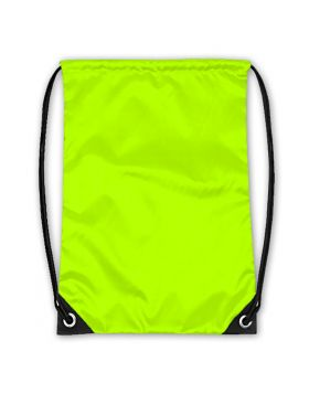 Drawstring Bag Neon Green