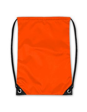 Drawstring Bag Neon Orange