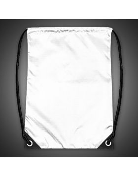 Drawstring Bag White