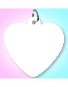 Sublimation Pet Tag Heart