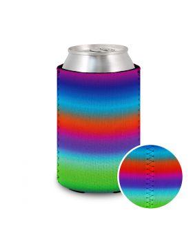 Koozie Neoprene Rainbow