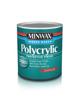Polycrylic Protective Finish Water Based 8 Oz