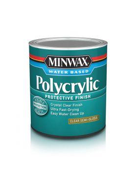 Polycrylic Protective Finish Water Based 8 Oz
