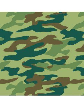 Camouflage Green Vinyl
