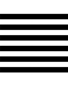 Pattern Stripes Straight Black