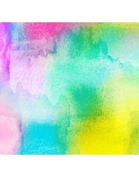 Watercolor Multicolors Vinyl