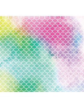 Mermaid Water Mix Colors Vinyl