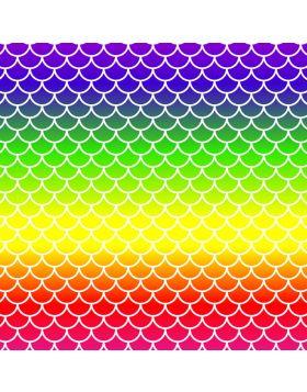 Mermaid Spectrum Colors Vinyl