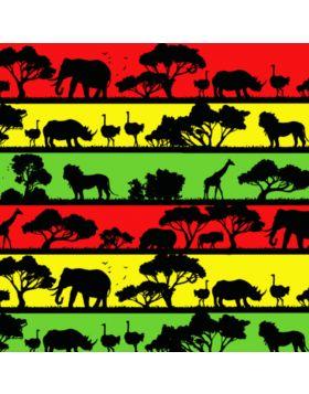 African Animals Vinyl