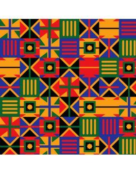 African Square Vinyl