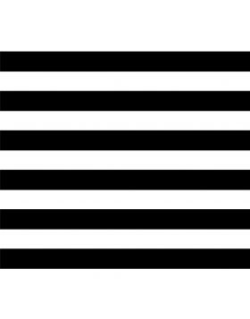 Stripes Straight Black Sign Vinyl