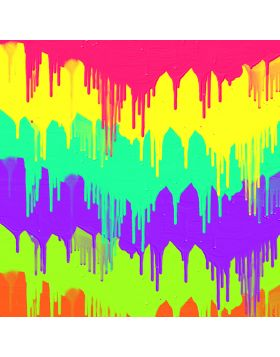 Paint Bruch Colors Sign Vinyl